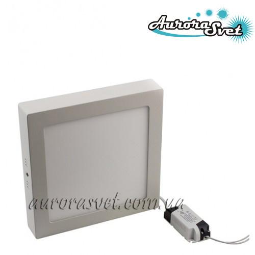 Точечный светодиодный накладной светильник  (квадратный) AR2-6W 4000/3000 K (Алюминий) 420lm