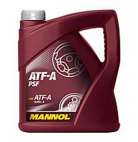 Трансмиссионное масло MANNOL ATF-A PSF(4л)