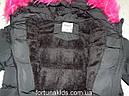 Куртки зимние на меху для девочек SEAGULL 8-16 лет, фото 3