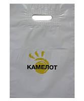 Флексопечать на пакетах с вырубной ручкой