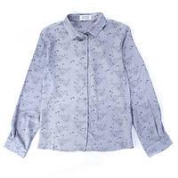 Блузка с длинным рукавом Miracle Me (серая)