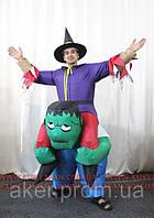 Ростовая кукла Ведьмак на гоблине