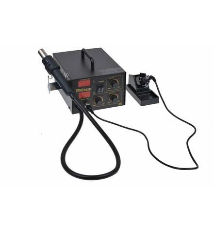 Паяльная станция Extools (Handskit) 852D+ цифровая с феном, 200-480*C, фото 2