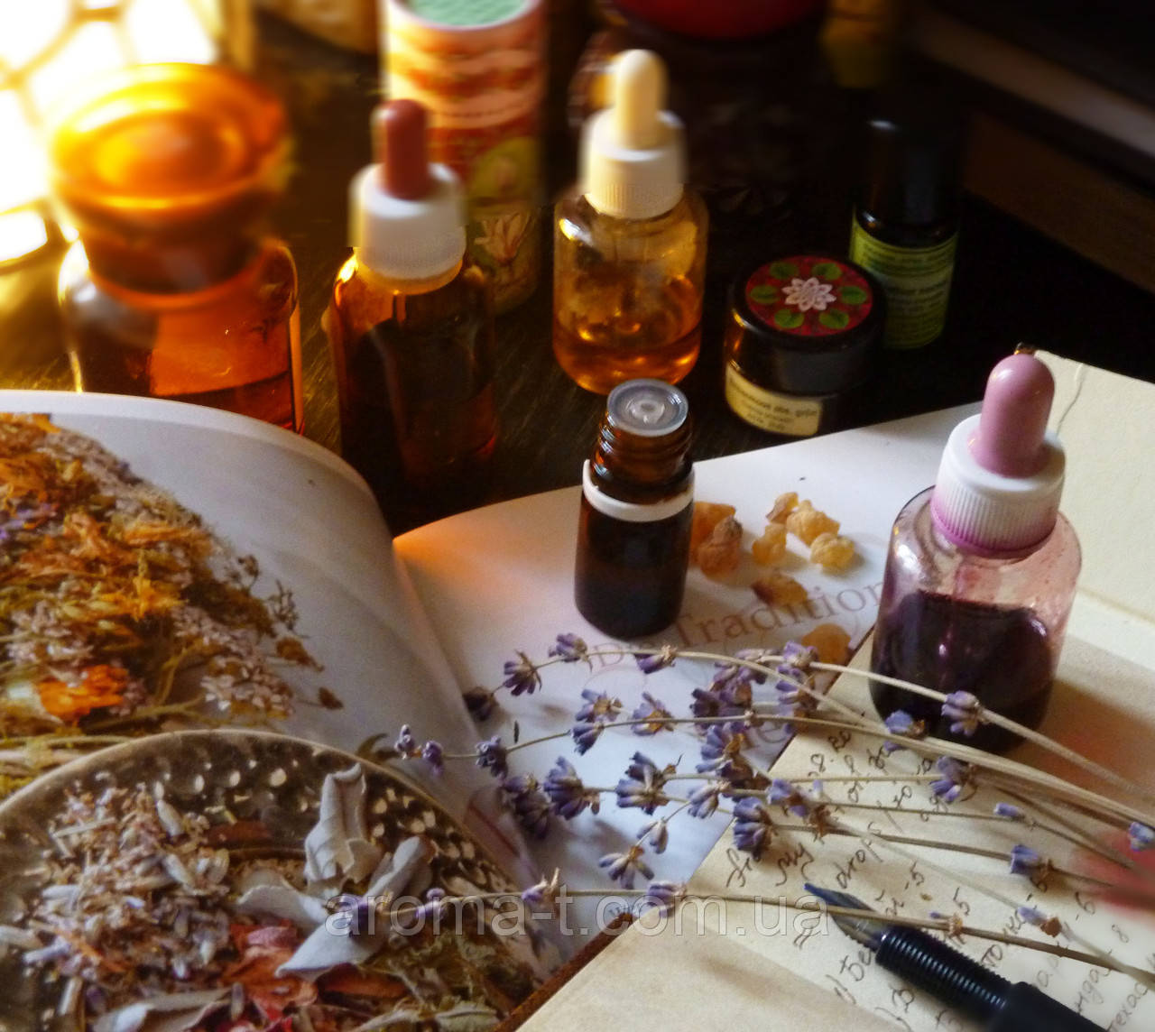 Курсы профессиональной ароматерапии Эмилии Крамар