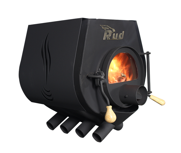 Отопительная конвекционная печь с варочной поверхностью Rud Pyrotron Кантри 00