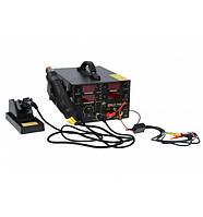 Паяльная станция цифровая с феном Extools (Handskit) 909D+, 800W, 100-450*C
