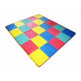 Игровой мат-коврик Кубики 120х120х3 см