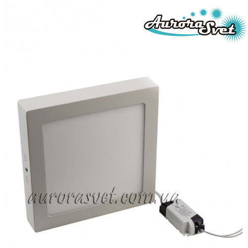 Точечный светодиодный накладной светильник  (квадратный) AR2-12W 4000/3000 K (Алюминий) 840lm