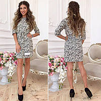 Женское стильное джинсовое платье