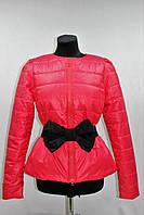 Куртка женская демисезонная, коралл, р.44-48