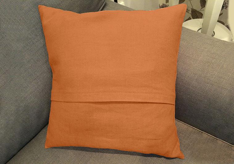 Декоративная подушка квадратная модель 2 Медовый