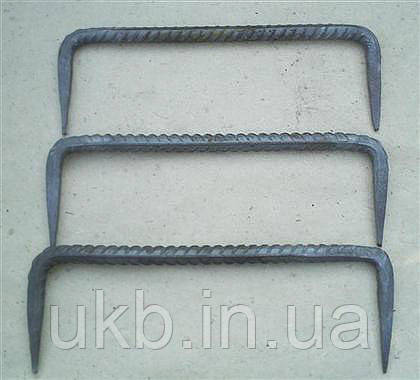 Скоба строительная крепежная 8*150 мм