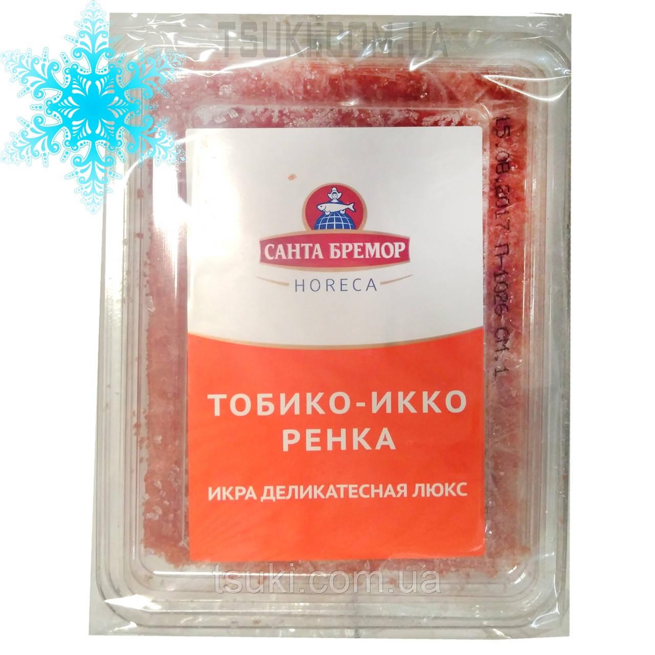 Икра Тобико Икко ренка оранжевая замороженная 0,5кг