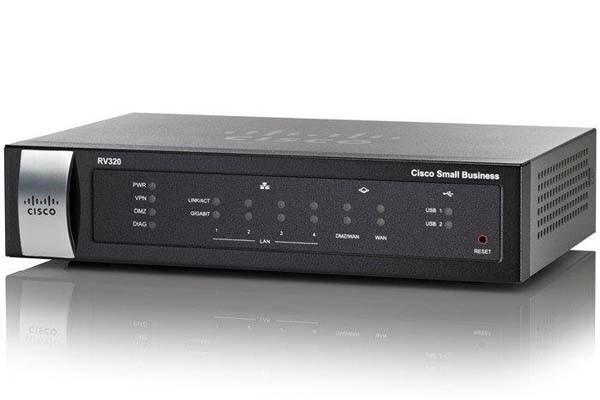 Маршрутизатор Cisco SB RV320-K9-G5