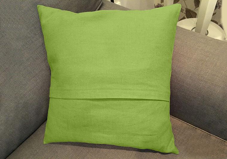 Декоративная подушка квадратная модель 2 Салатовый