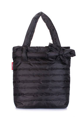 Дутая сумка женская POOLPARTY black