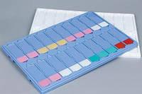 Планшеты для хранения и переноски микропрепаратов на 20 предметных стекол(платик)