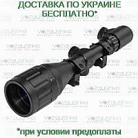 Оптический прицел Rifle scope4-16x50 AOE с подсветкой арбалетной сетки, фото 1