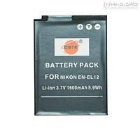 Аккумулятор для фотоаппарата Nikon EN-EL12, 1600 mAh.