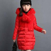 Пальто на девочку осень-зима