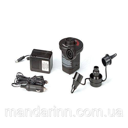 Электрический насос с питанием от прикуривателя и 220 V.  66632