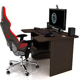 Геймерский игровой стол Igrok-1, Орех темный (Zeus ТМ)