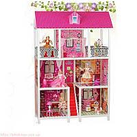 Домик для кукол с мебелью арт.66885