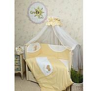 Комплект постельного белья в детскую кроватку Мишка