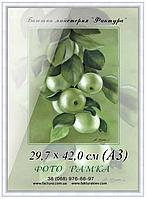 Фоторамка пластиковая А3 (29,7х42) рамка для фото 30*40, дипломов, сертификатов, грамот