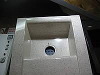 Мойка кухонная со сливной полкой 716х540х205 цвет Peper Ivory PSLC 466