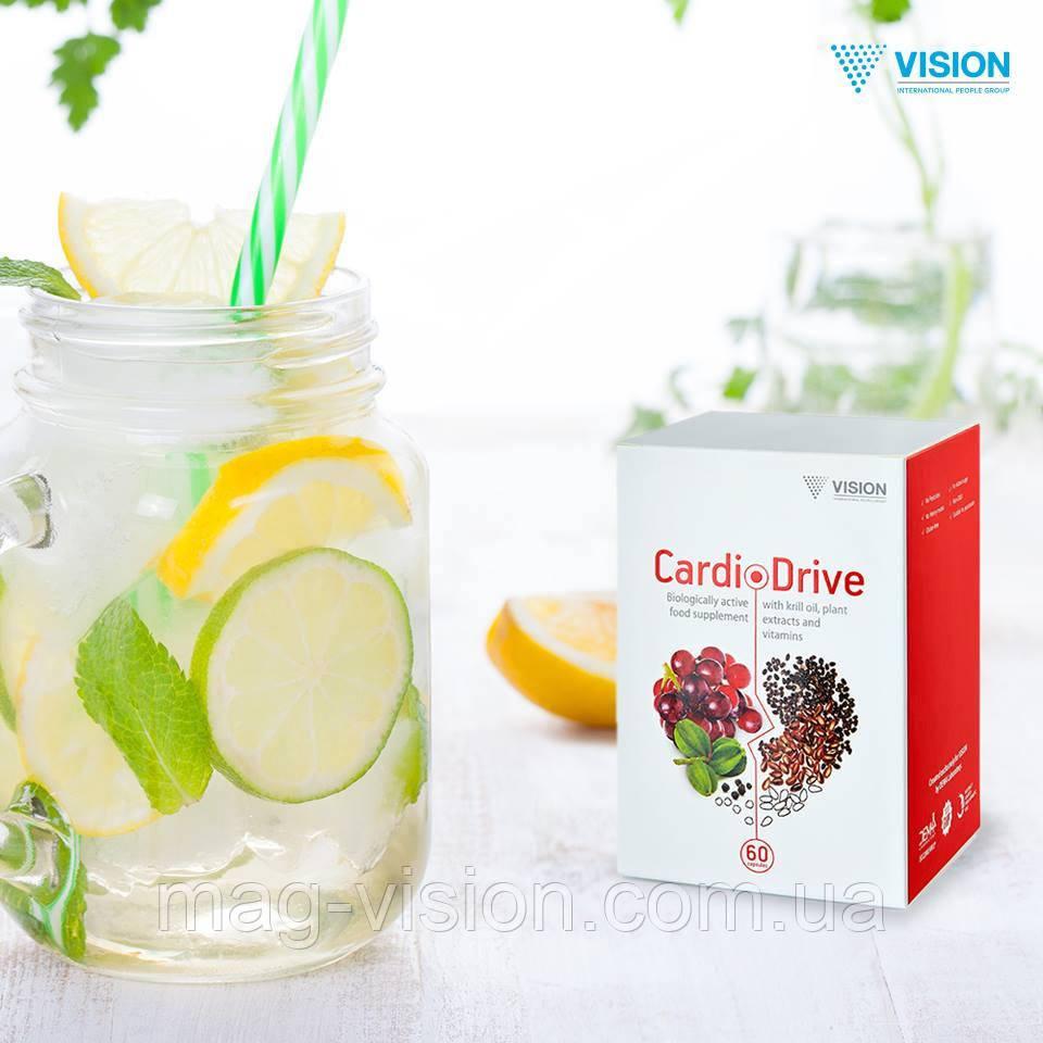 КардиоДрайв (CardioDrive) Vision - двойная помощь сердцу - интернет - магазин БАД Vision в Киеве