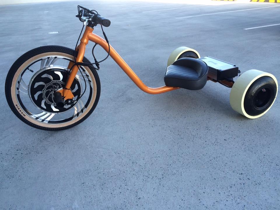 Drift Trike електровелосипед 3-х колісний для дріфта