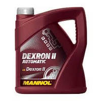 Трансмиссионное масло MANNOL Dexron II Automatic (4л)