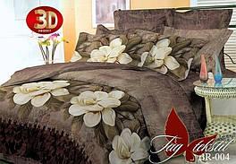 Комплект постельного белья ТМ TAG 1,5-спальный, постельное белье полуторка BR004