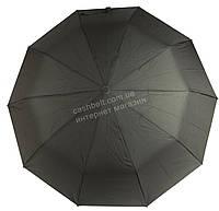 Мужской прочный зонт полуавтомат классический черный цвет BELLISSIMO art. SL452 (101613) черный, фото 1