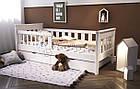 Подростковая кровать от 3 лет с бортиками Инфинити, фото 2