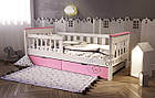 Подростковая кровать от 3 лет с бортиками Инфинити, фото 4