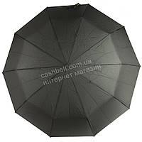 Мужской прочный зонт автомат классический черный цвет SUSINO art. 457 черный (101610), фото 1