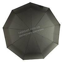 Мужской прочный зонт автомат классический черный цвет S.L. art. 337a черный (101609)