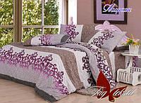 Комплект постельного белья ТМ TAG 1,5-спальный, постельное белье полуторка Мираж