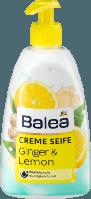 Жидкое крем-мыло для рук с дозатором Balea Creme Seife Ginger & Lemon- Имбирь и лимон