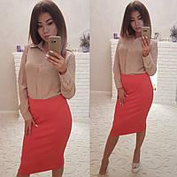 Шифоновая блуза 2 цвета в наличии