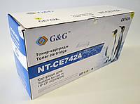 Картридж G&G для HP Color LJ CP5225/CP5225N/ CP5225DN Yellow (7500 стр), фото 1