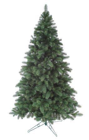 Зеленая литая елочка