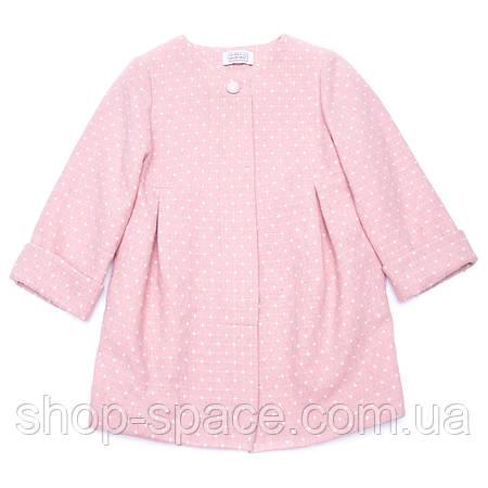 Пальто для девочки Miracle Me розовое