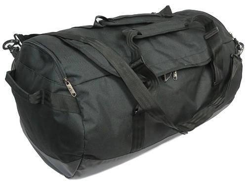 Прочная большая дорожная сумка Баул 106 л Bagland 90466 черный