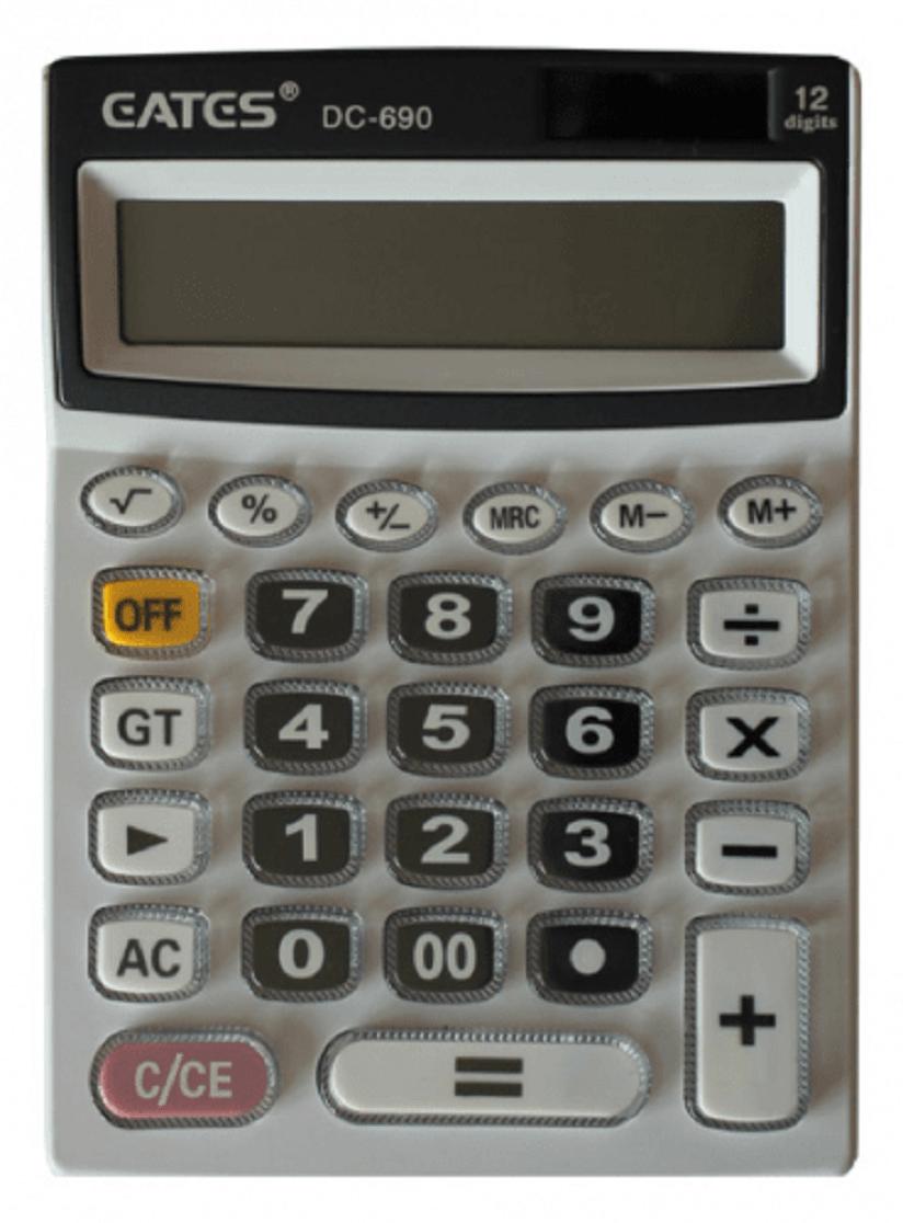 Калькулятор Gates DC-690