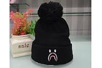 ✔️ Чёрная шапка Bathing ape (Bape)