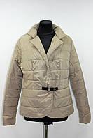 Куртка пиджак женская демисезонная, мокко, р.44-50