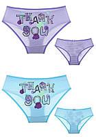 Трусики детские для девочки TM Donella (микс кол. С принтом